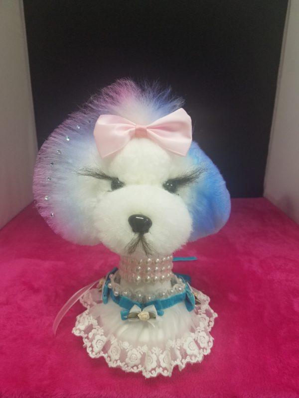 Model Dog Wig & Stand